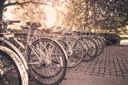 Bikes at Open Streets London for Event Crew Hire